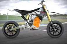 Speedy Electric Motorcycles - The RedShift Motorbike is New Millenium Magnificient