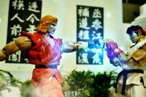 'Street Fighter Stop Motion' Pits Ryu and Ken Against One Another