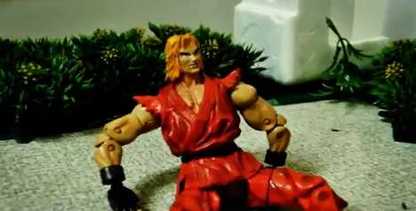 Street Fighter Stop Motion