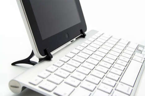 Multi-Gadget Keyboard Converters - WINGStand Transforms Tablets into Computers