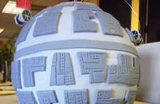 Space Station Confections - The Death Star Cake Will Have Fans Drooling Over it in Hunger