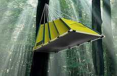 Aerial Outdoor Shelters