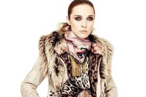 The Roberto Cavalli Fall 2011 Campaign is Fiesty Glam-Chic