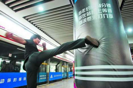 Adidas Subway Punching Bag