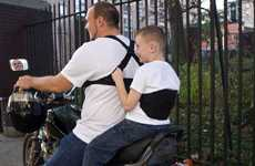 Motorbike Safety Harnesses - Moto-Grip Lets Passengers Hang on for Safety