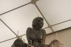 Park Chan-Girl Creates Striking Shifting Steel Art Pieces