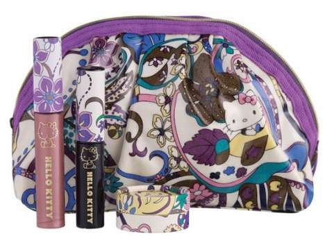 Cute Feline Cosmetics Collections - The Liberty of London x Hello Kitty Collection is Adorable