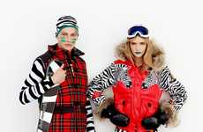 Eclectically Printed Snowsuits