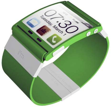 Multitasking Wrist Watches - The imWatch Lets You Stay Connected Online Wherever You Go