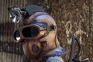 Artist Tom Banwell Creates Sci-Fi Face Armor