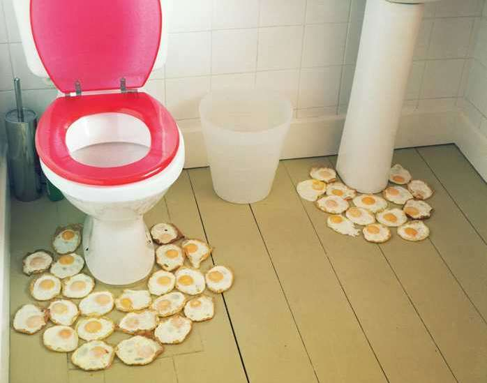 Fried Egg Rugs