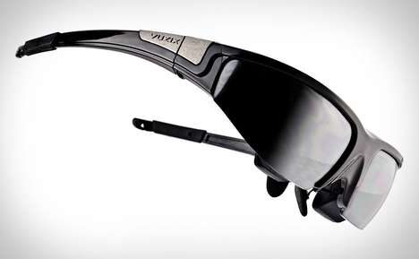 Sporty Multimedia Shades - Experience Movies on an Epic Level with the Vuzix Wrap 1200 3D Glasses