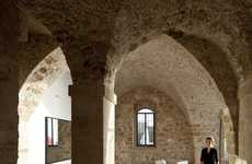 Arching Stone Apartments - The Jaffa Flat by Pitsou Kedem Combines Old-World and Modernity