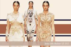 The Anne-Sofie Madsen SS 2012 Collection Pops at Copenhagen Fashion Week
