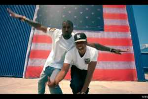 The Jay-Z Kanye West Otis Video Captures the American Spirit on Fire