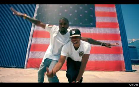 Jay-Z Kanye West Otis Video