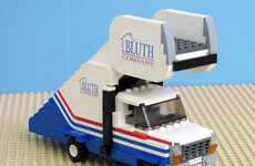 Tiny Television Toys - The Bluth Company LEGO Stair Car Pays Tribute to Arrested Development