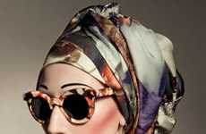 Opulent Old-School Eyewear