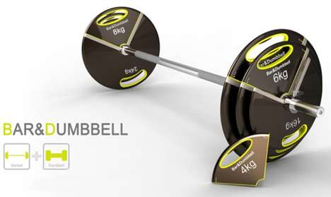 Bar Dumbbell