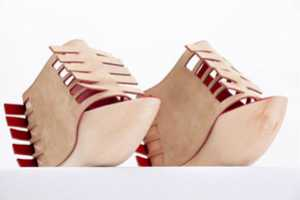 Unibody by Julia Kaldy Explores Footwear That Blends With the Leg