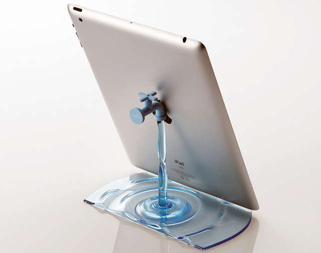 Leaky Sink Tablet Mounts
