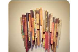 The '42 Book Wall Sculpture' Transforms the Purpose of Literature