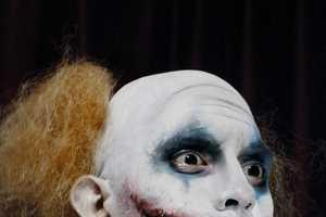 Elias Creates Spooky Characters Using Cosmetics