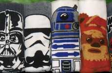 Intergalactic Caricature Towels