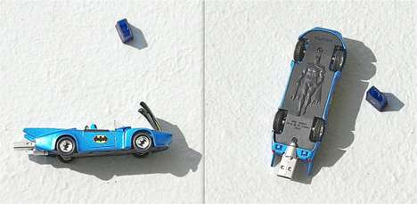 1980s Corgi Batmobile USB
