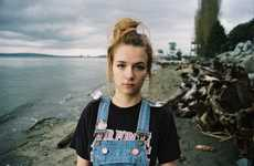 Intimate Teen Angst Photography - Ruby Mercier Captures Adolescent Confusion and Vulnerability