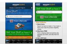 Book-Exchanging Apps - 'Amazon Student' Turns the iTunes Store into a University Bazaar