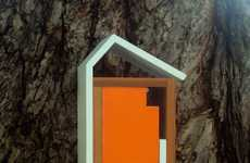 Chic Modern Birdhouses - Nathan Danials' Burd-Haus Creations are Inspired by Architecture