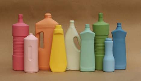 Middle Kingdom Cleaning Product Vases