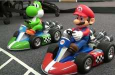Zip Around the Track with these Super Deluxe Mario R/C Cars