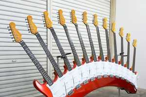 Yoshihiko Satoh Turns Up the Volume With His Beastly Guitar