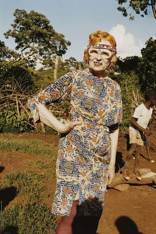 Vivienne Westwood Ethical Fashion Africa