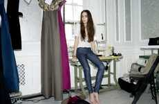 Dashing Denim Designs - The Victoria Beckham Denim Fall 2011 Collection is Full of Chic Must-Haves