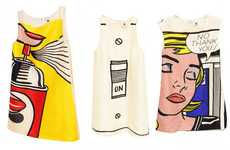 The Lisa Perry For Roy Lichtenstein Line is Bold and Quirky