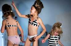 Jours Apres Lunes Offers 'Loungerie' for Little Girls