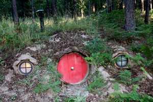 The Hobbit House of Montana is a Hillside Wonderland