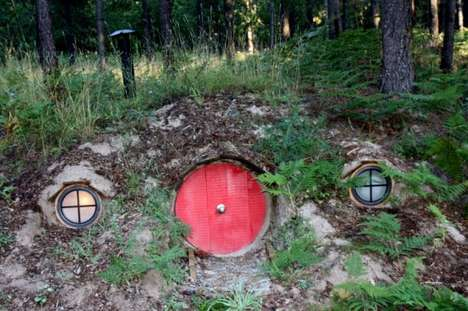 Hobbit-Inspired Hideaways - The Hobbit House of Montana is a Hillside Wonderland