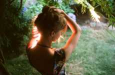 Fainting Forest Fairy Photography - Parker Fitzgerald Captures Intimately Desolate Moments in Nature