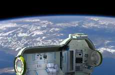 Upper Orbit Auberges - The Russian 'Commercial Space Station' Doubles as an Atmospheric Hotel