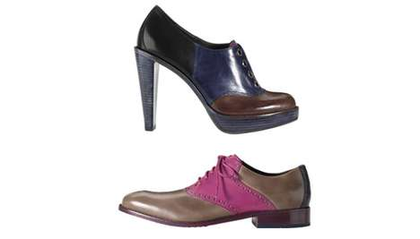 Clown Chic Shoes - The Cole Haan Handpainted Collection are Colored in an 11-Step Process