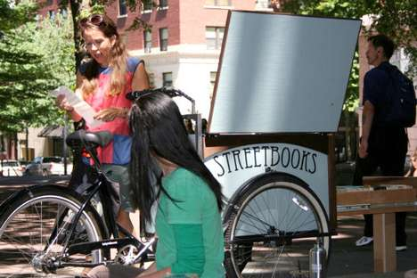 Pedal-Powered Libraries - Street Books Delivers Literature to Portland's Homeless