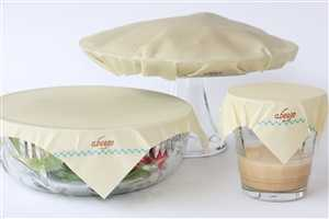The Abeego Wraps are a Natural Alternative for Reusable Food Storage