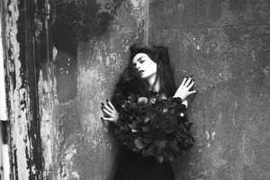 The Anne Hathaway Interview Magazine Spread Shows Her Dark Side