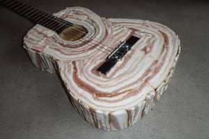 The 'Bacon Love Blues' Guitar Tutorial is Not for Vegetarians