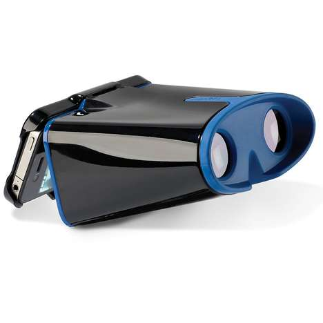 3-D Smartphone Goggles - Enjoy Eye-Popping Images with the iPhone Virtual Reality Viewer