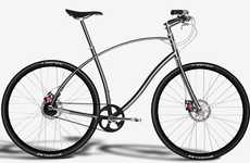 Titanium City Bikes - Paul Budnitz Bicycle is Inspired by Classic Aston Martin and Maserati Cars